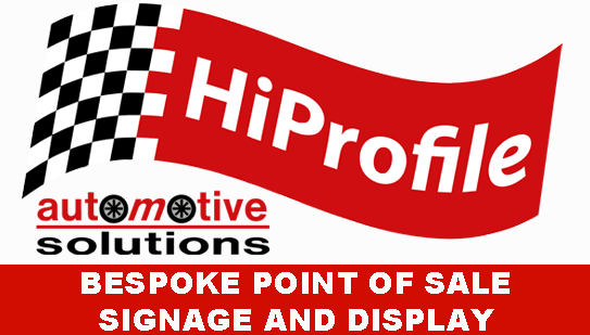 hiprofile, bespoke point of sale, signage and display.